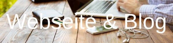 Webseite & Blog